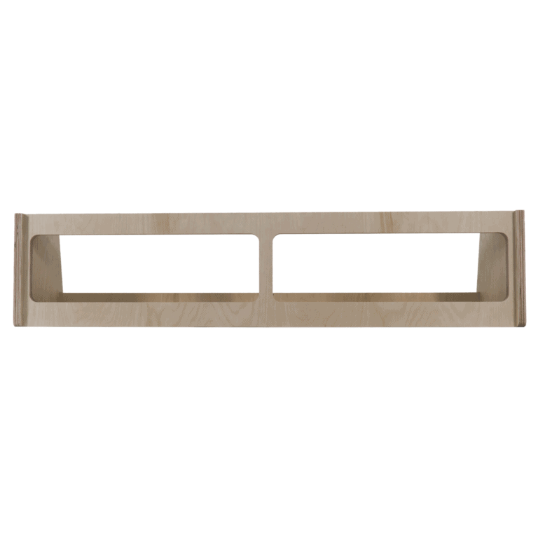 DIY Van Conversion Shelf Kit - Front