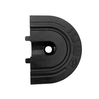 Recessed L-Track End Caps