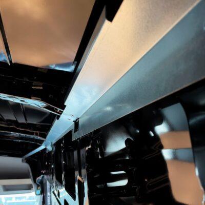 structural panel assembly for Transit camper vans